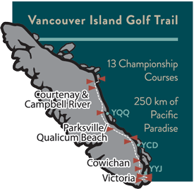 Highland Pacific Golf Course Partners Vancouver Island Golf Trail