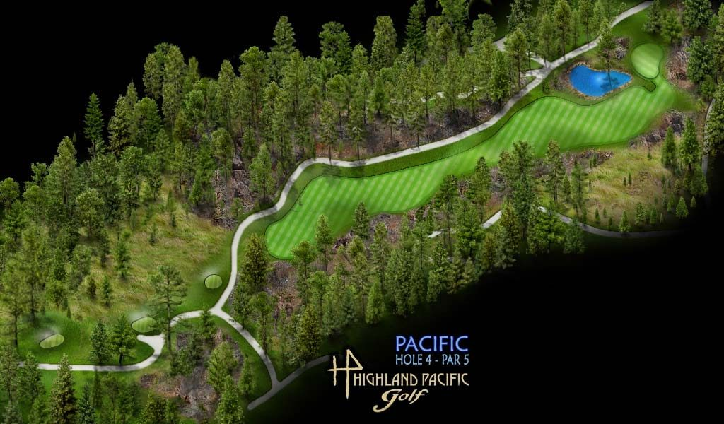 Pacific Course Hole 4