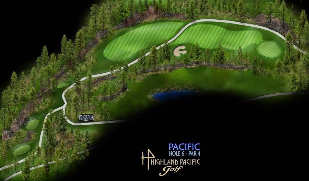 Pacific Course Hole 6