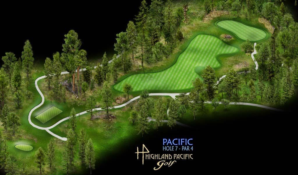 Pacific Course Hole 7