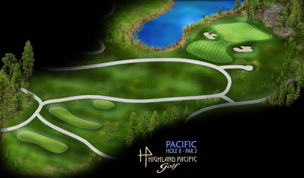 Pacific Course Hole 8