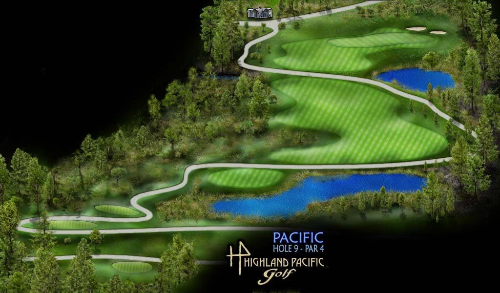 Pacific Course Hole 9