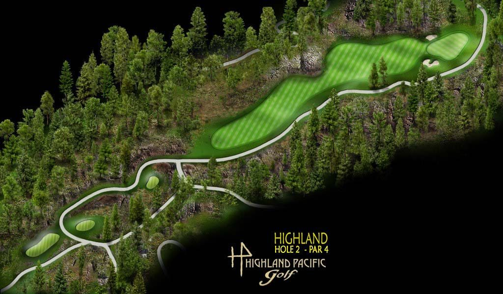 Highland Course Hole 2