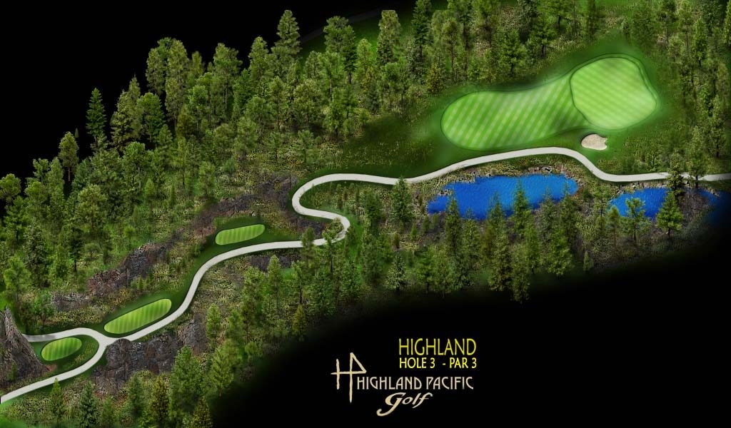 Highland Course Hole 3