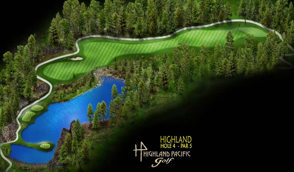Highland Course Hole 4