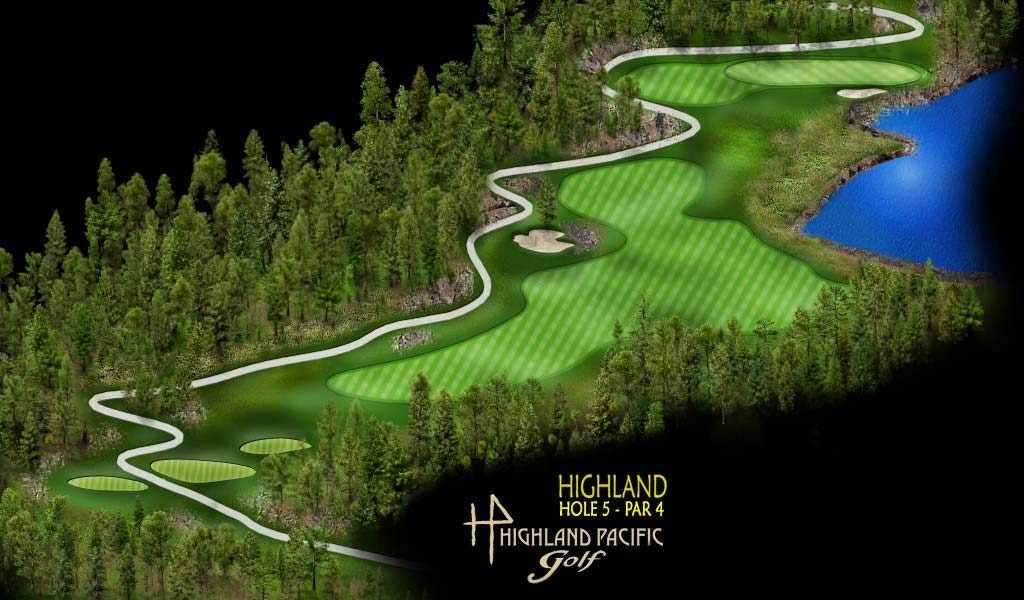 Highland Course Hole 5