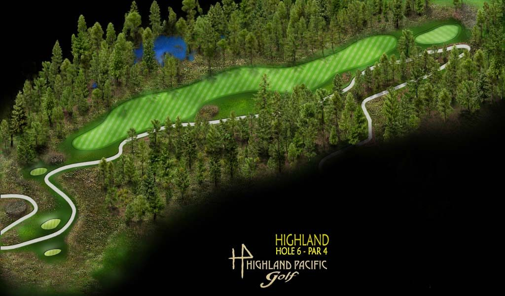 Highland Course Hole 6
