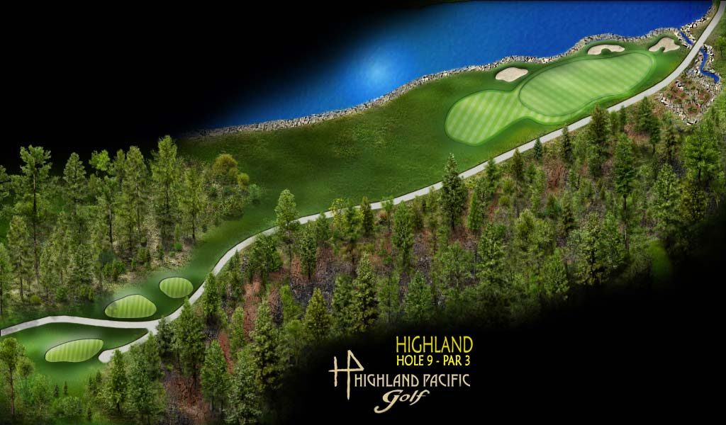 Highland Course Hole 9