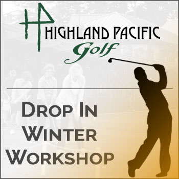 Drop In Golf Clinic - Winter Workshop